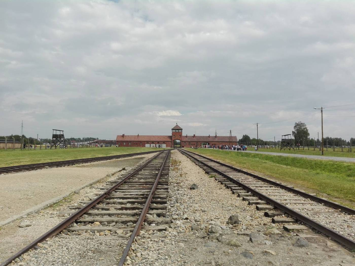 Auschwitz Birkenau Concentration Camp Main Gate